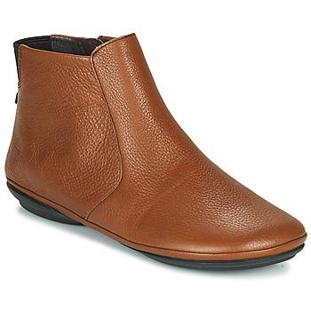 Zapatos Mujer Botas de caña baja Camper RIGHT NINA Marrón