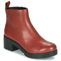 Zapatos Mujer Botines Camper WND0 Burdeo