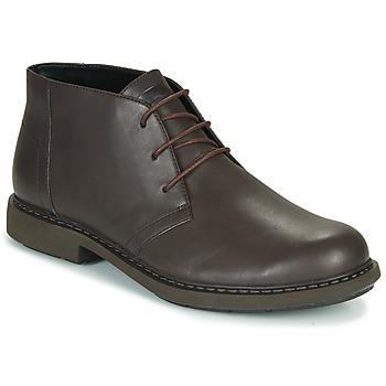 Zapatos Hombre Botas de caña baja Camper MILX Marrón