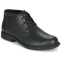Zapatos Hombre Botas de caña baja Camper MILX Negro