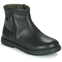 Zapatos Niña Botas de caña baja Camper DTT1 Negro
