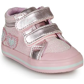 Zapatos Niña Zapatillas altas Chicco GEORGIAN Rosa