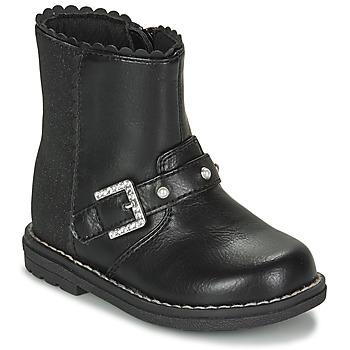 Zapatos Niña Botas urbanas Chicco CANCAN Negro