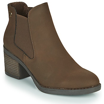 Zapatos Mujer Botines Chattawak TEXAS Marrón