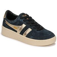 Zapatos Mujer Zapatillas bajas Gola GRANDSLAM PEARL Negro / Oro
