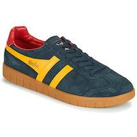 Zapatos Hombre Zapatillas bajas Gola HURRICANE Marino / Amarillo