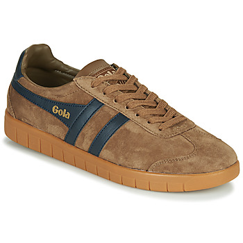 Zapatos Hombre Zapatillas bajas Gola HURRICANE Marrón / Marino
