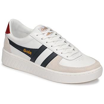 Zapatos Hombre Zapatillas bajas Gola GRANDSLAM CLASSIC Blanco / Marino