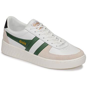 Zapatos Hombre Zapatillas bajas Gola GRANDSLAM CLASSIC Blanco / Verde