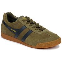Zapatos Hombre Zapatillas bajas Gola HARRIER Kaki / Marino