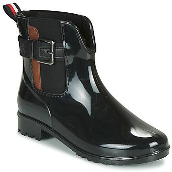 Zapatos Mujer Botas de agua Tom Tailor 92306-NOIR Negro