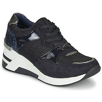 Zapatos Mujer Zapatillas bajas Tom Tailor 92610-BLEU Azul