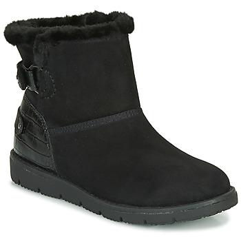 Zapatos Mujer Botas de caña baja Tom Tailor 93105-NOIR Negro