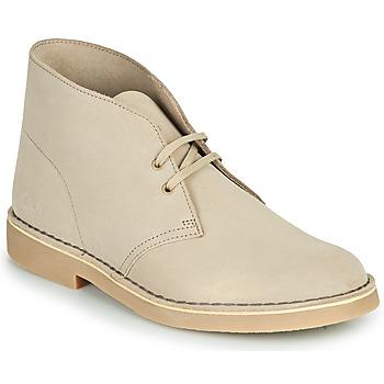 Zapatos Hombre Botas de caña baja Clarks DESERT BOOT 2 Arena