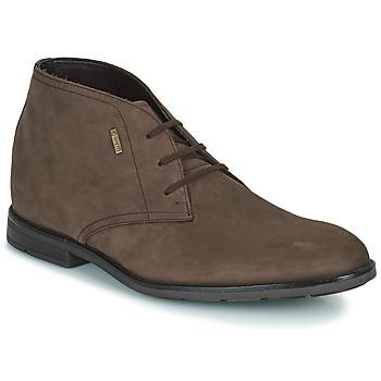 Zapatos Hombre Botas de caña baja Clarks RONNIE LOGTX Marrón