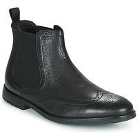 Zapatos Hombre Botas de caña baja Clarks RONNIE TOP Negro