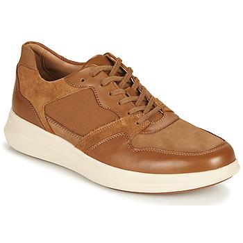 Zapatos Hombre Zapatillas bajas Clarks UN GLOBE RUN Camel