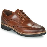 Zapatos Hombre Derbie Clarks BATCOMBE WING Camel