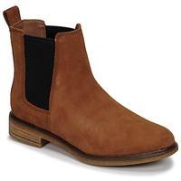 Zapatos Mujer Botas de caña baja Clarks CLARKDALE ARLO Camel