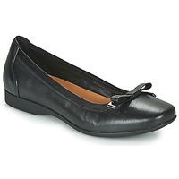 Zapatos Mujer Bailarinas-manoletinas Clarks UN DARCEY BOW Negro