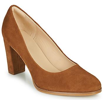 Zapatos Mujer Zapatos de tacón Clarks KAYLIN CARA 2 Camel