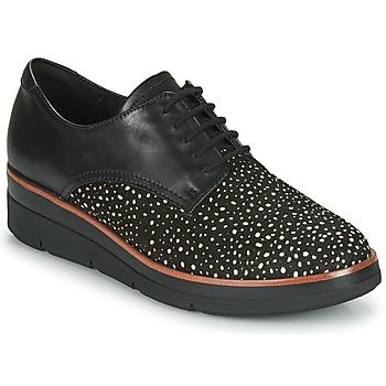 Zapatos Mujer Derbie Clarks SHAYLIN LACE Negro