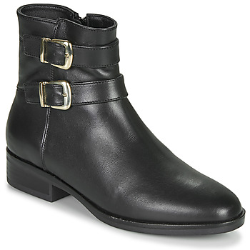 Zapatos Mujer Botas de caña baja Clarks PURE MID Negro