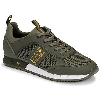 Zapatos Hombre Zapatillas bajas Emporio Armani EA7  Kaki