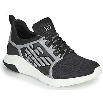Zapatos Hombre Zapatillas bajas Emporio Armani EA7 XCC55 Negro