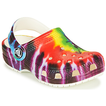 Zapatos Niños Zuecos (Clogs) Crocs CLASSIC TIE DYE GRAPHIC CLOG K Multicolor