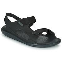 Zapatos Hombre Sandalias Crocs SWIFTWATER EXPEDITION SANDAL M Negro