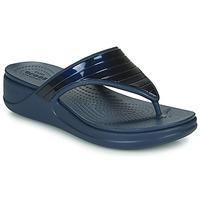 Zapatos Mujer Chanclas Crocs CROCSMONTEREYMETALLICSTPWGFPW Marino