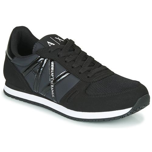 Zapatos Mujer Zapatillas bajas Armani Exchange XCC62-XDX031 Negro