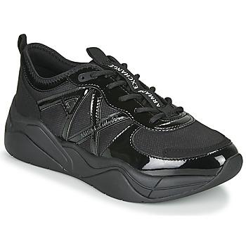 Zapatos Mujer Zapatillas bajas Armani Exchange BALDA Negro