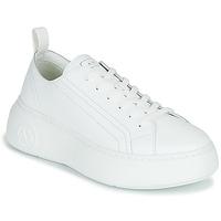 Zapatos Mujer Zapatillas bajas Armani Exchange PROMNA Blanco