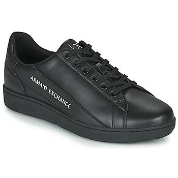 Zapatos Hombre Zapatillas bajas Armani Exchange XV262-XUX082 Negro