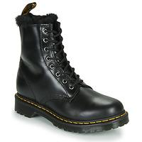 Zapatos Mujer Botas de caña baja Dr Martens 1460 SERENA Negro