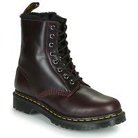 Zapatos Mujer Botas de caña baja Dr Martens 1460 SERENA Burdeo