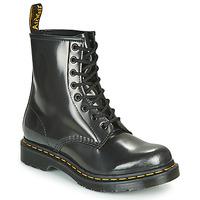 Zapatos Mujer Botas de caña baja Dr Martens 1460 W Plata