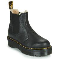 Zapatos Mujer Botas de caña baja Dr Martens 2976 QUAD FL Negro