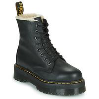 Zapatos Mujer Botas de caña baja Dr Martens JADON FL Negro