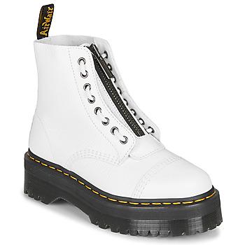Zapatos Mujer Botas de caña baja Dr Martens Sinclair Blanco