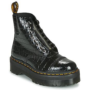 Zapatos Mujer Botas de caña baja Dr Martens Sinclair Negro / Cocodrilo