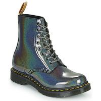 Zapatos Mujer Botas de caña baja Dr Martens VEGAN 1460 PASCAL Plata