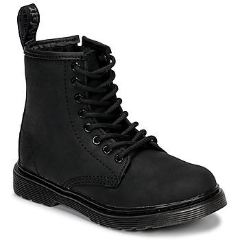 Zapatos Niños Botas de caña baja Dr Martens 1460 SERENA MONO J Negro