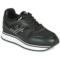 Zapatos Mujer Zapatillas bajas Emporio Armani  Negro