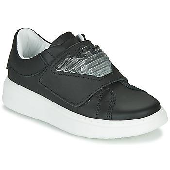 Zapatos Niños Zapatillas bajas Emporio Armani XYX014-XOI08 Negro
