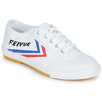 Zapatos Zapatillas bajas Feiyue FE LO 1920 Blanco / Azul / Rojo