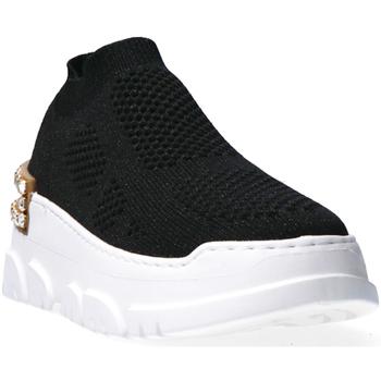 Zapatos Mujer Zapatillas bajas Emanuélle Vee 401P-500-15-T036 Negro