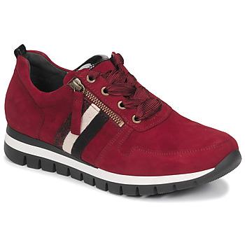 Zapatos Mujer Zapatillas bajas Gabor 5643538 Rojo